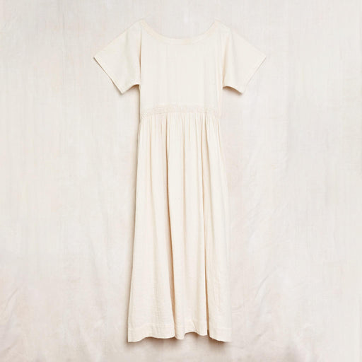 Nova Dress in Undyed Kala Cotton