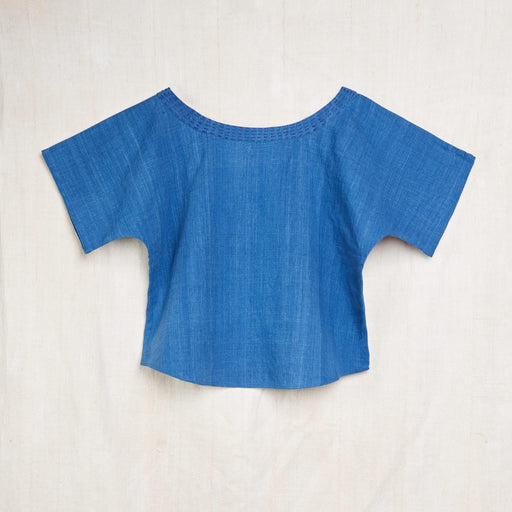 Nova Top in Indigo Kala Cotton
