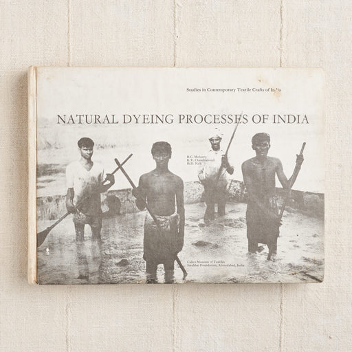 Natural Dyeing Processes of India