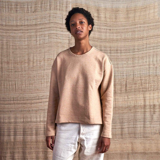 Barcelona Pullover in Undyed Colorganic® French Terry