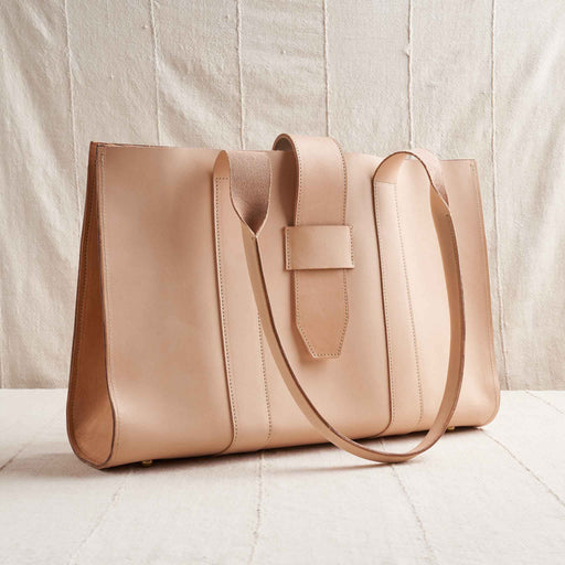 Siri Bag in Undyed Natural Leather