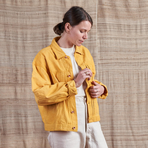 Sundae Jacket in Jackfruit Organic Canvas
