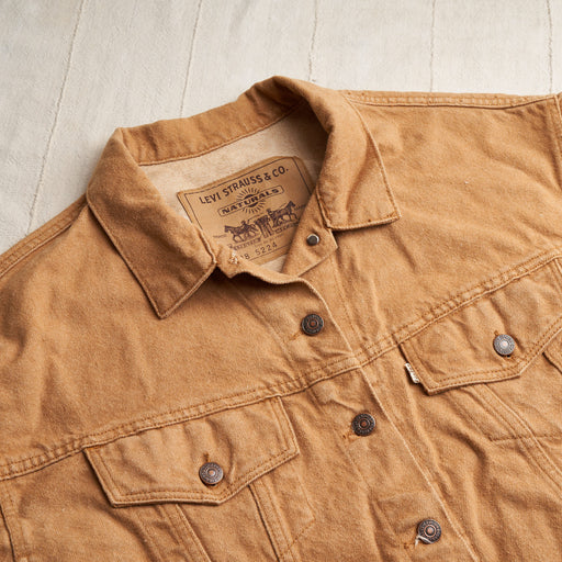 Vintage Levi's Jacket in Colorganic® Brown Denim