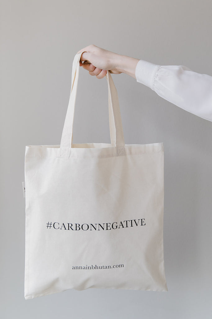 #Carbonnegative Tote Bag