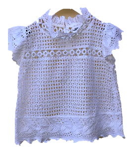 Place Nationale La Barness Lace Top