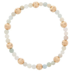 eNewton Sincerity 4mm Bracelet - Amazonite