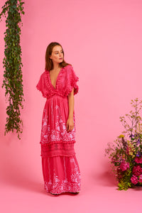 Place Nationale La Garrigue Maxi Dress