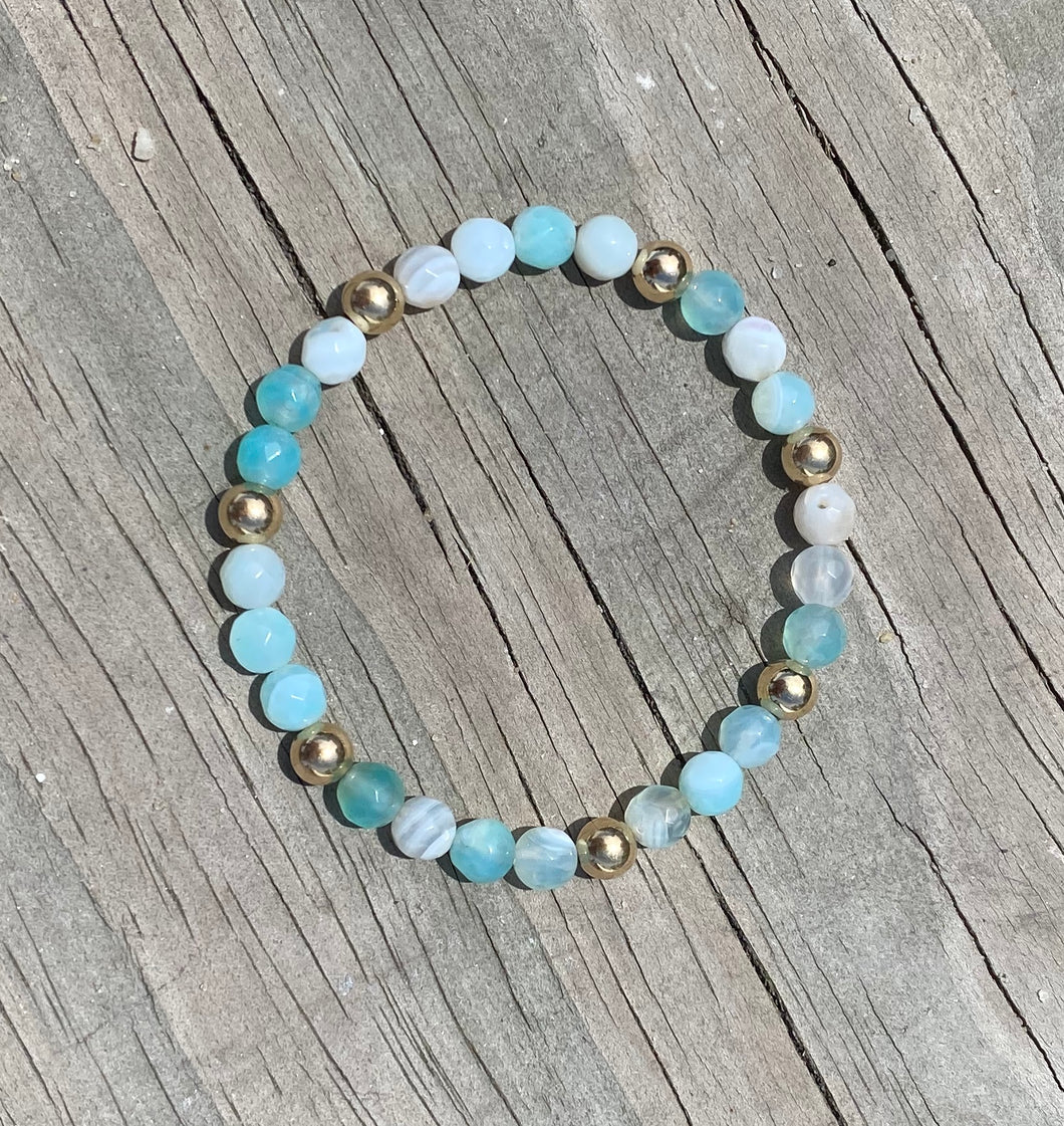 eNewton Turquoise Agate Sincerity 6mm