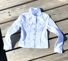 Load image into Gallery viewer, Jean Jacket - White