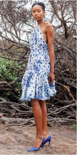 Katharine Kidd Penny Tie Dye Dress