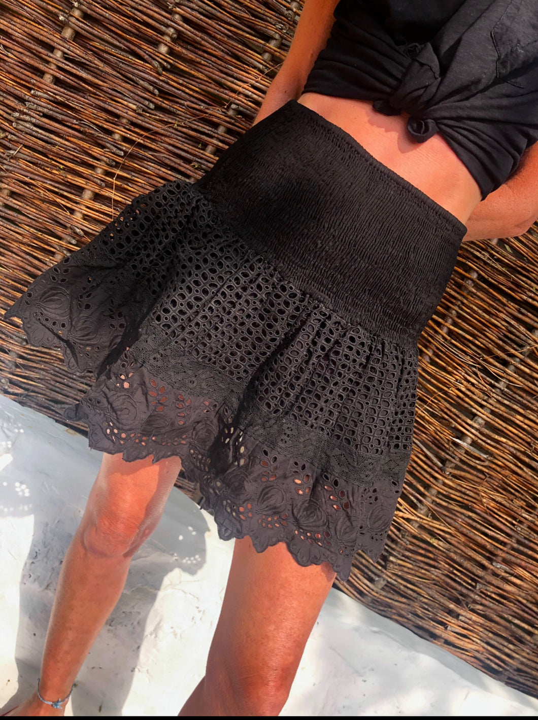 Place Nationale La Lib Lace Skirt