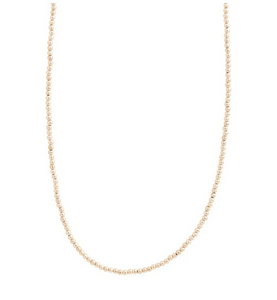 "eNewton 28.5"" Classic Gold 3mm Necklace"
