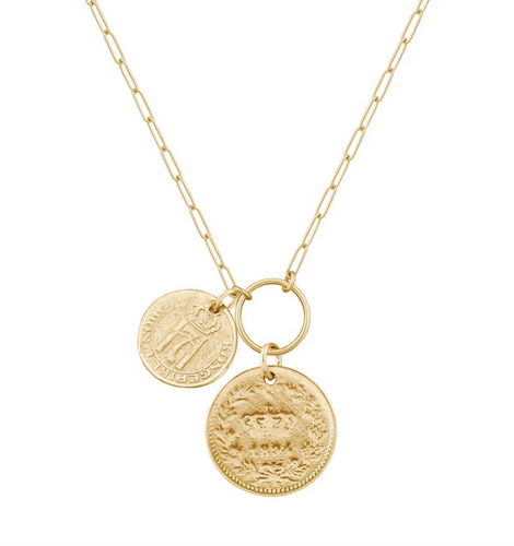 Electric Picks Lux Coin Necklace