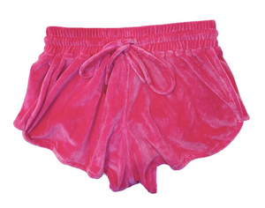 Mikoh Luca Passion Pink wide band shorts