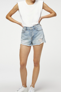 7 for All Mankind - Monroe Blue shorts