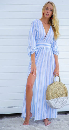 Bindu Bianca Maxi Dress