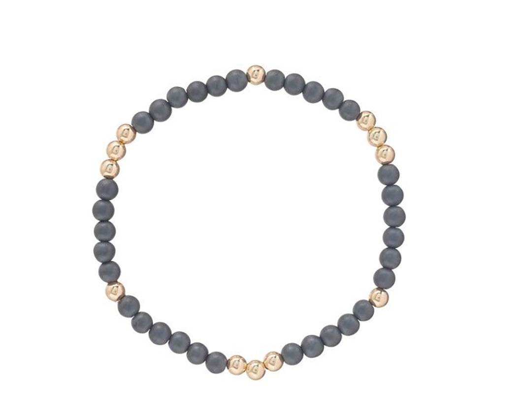 eNewton 4mm Worthy Pattern bead bracelet