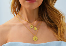 Load image into Gallery viewer, Electric Picks NYC Subway Token Necklace