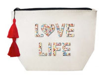 Load image into Gallery viewer, Fallon & Royce Canvas Cosmetic Bag