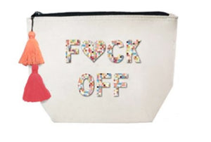 Fallon & Royce Canvas Cosmetic Bag