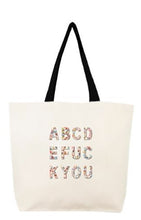 Load image into Gallery viewer, Fallon & Royce Canvas Tote