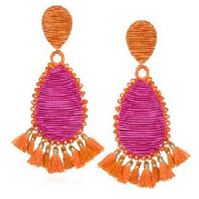 Load image into Gallery viewer, Suzanna Dai Exuma Tassel Earrings