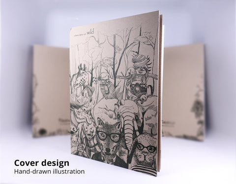 hangdrawn illustration on notebook by WildAge