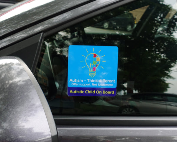 Think Different | Autism Awareness Car Window Sticker