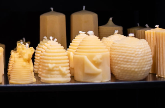 Beehive Candles