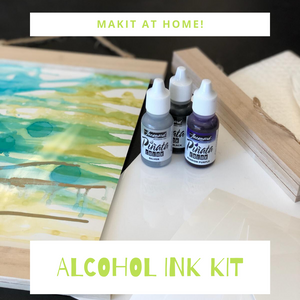 Alcohol Ink Poster Kit