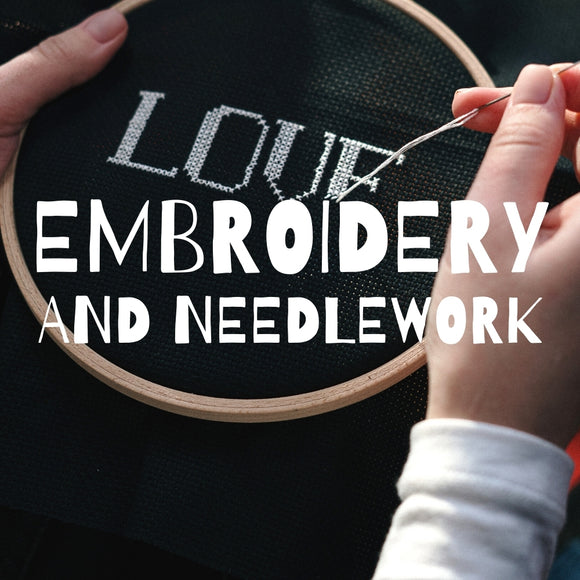 Shop all Embroidery and Needlework