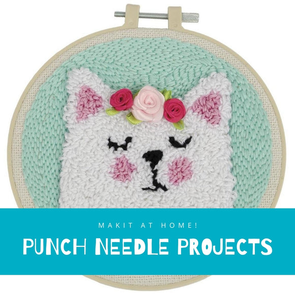 Makit at Home Projects - Punch Needle