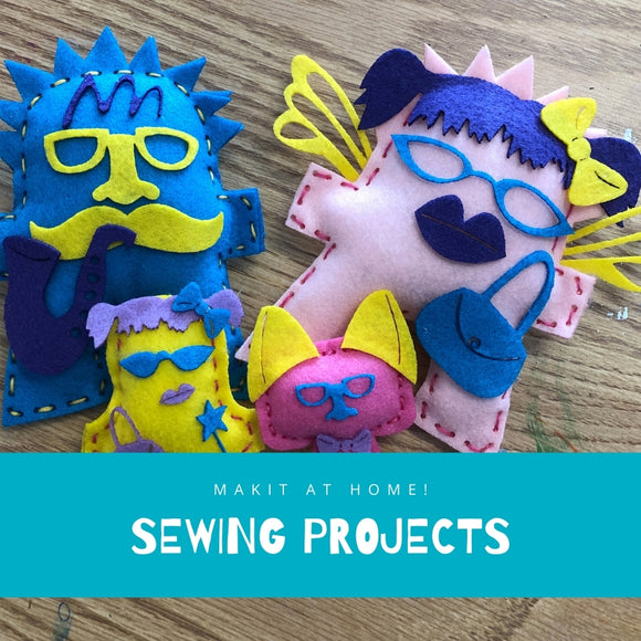 Makit at Home Projects - Sewing
