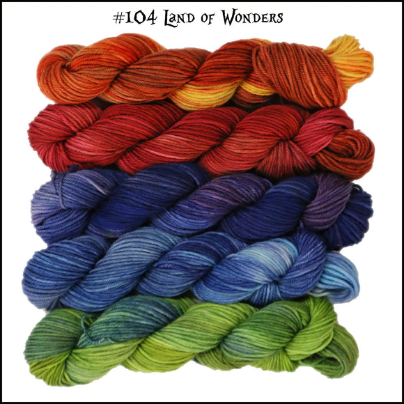 Mary Ann Mini Skein Pack