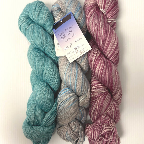Melting Pot Lace Weight - Baby Alpaca/Silk