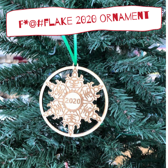 F*@#Flake 2020 Ornament