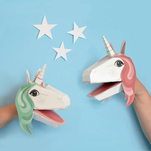 Unicorn Puppets - Create Your Own