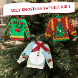 Ugly Sweater Ornament Kits