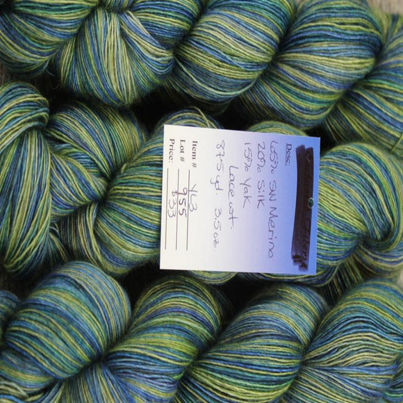 Melting Pot Lace Weight - Merino/Silk/Yak