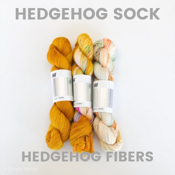 Hedgehog Fibers Sock Yarn