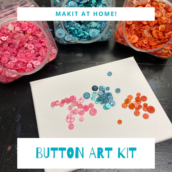 Button Art Craft Kit - Craft at Home