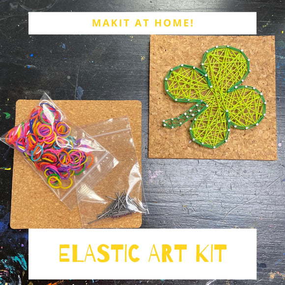 Elastic Art Craft Kit- Craft at Home