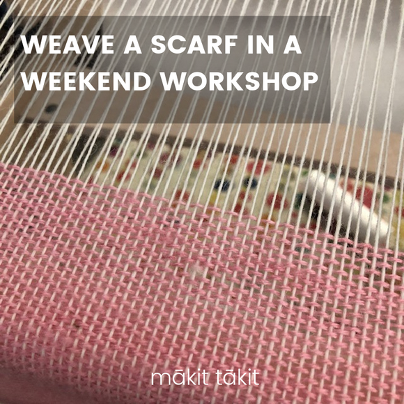 Weave a Scarf in a Weekend Workshop