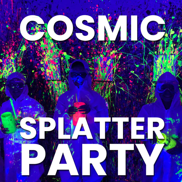Cosmic Splatter Party – Adult or Youth