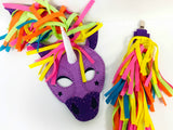 Unicorn Mask Makit at Home Kit