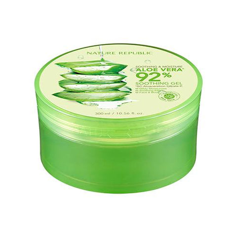 Soothing & Moisture Aloe Vera 92% Soothing Gel (300ml)