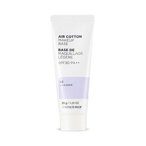 Air Cotton Makeup Base SPF30 PA++ 2 Colours (40ml)