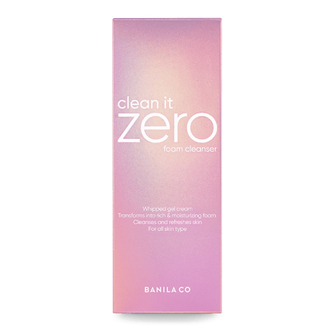 Clean It Zero Foam Cleanser - (150ml)