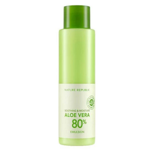Soothing & Moisture Aloe Vera 80% Emulsion (160ml)