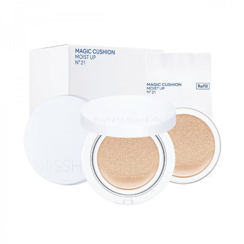 M Magic Cushion Moist Up (SET) SPF50+ pa+++ 2 Shades (15g*2)